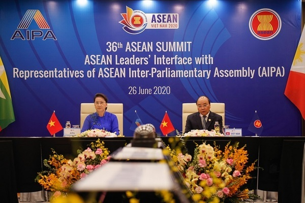 Phiên đối thoại của Lãnh đạo ASEAN với đại diện AIPA, ASEAN-BAC và thanh niên ASEAN