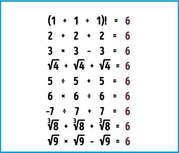 Câu đố toán học tưởng không khó mà... khó không tưởng!