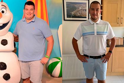 Sợ mắc Covid-19, người đàn ông giảm hơn 25 kg trong ba tháng