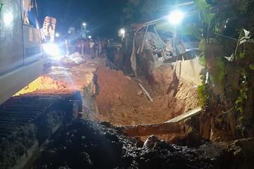 Sập tường bê tông ở Yên Bái, 4 người thương vong