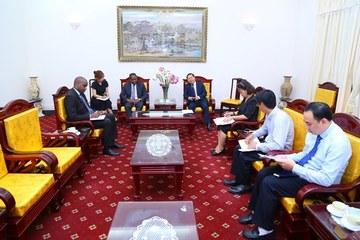 Tăng cường hợp tác về lĩnh vực lao động và an sinh xã hội giữa Việt Nam - Angola