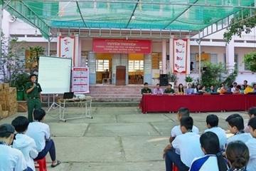 BĐBP Sóc Trăng tuyên truyền phòng, chống mua bán người trong học đường