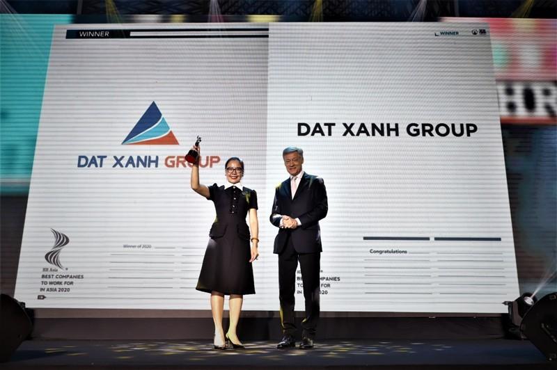 Đất Xanh vào top doanh nghiệp có môi trường làm việc tốt nhất châu Á năm 2020 tại Việt Nam