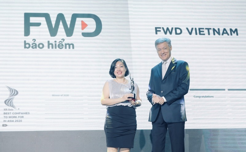 FWD Việt Nam là một trong những nơi làm việc tốt nhất Châu Á
