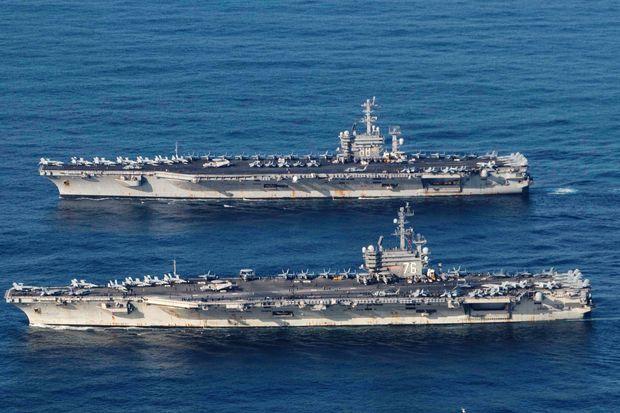 Mỹ 'đáp trả' cuộc tập trận 5 ngày của Trung Quốc ở Biển Đông