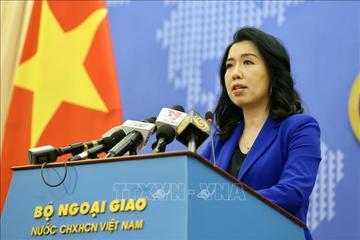 Việt Nam đã trao công hàm phản đối Trung Quốc tập trận trái phép ở Hoàng Sa