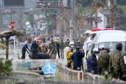 Nhật Bản: Lũ lớn 'nhấn chìm' một vùng, 40 người thiệt mạng