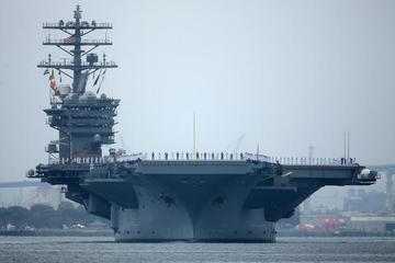 Hải quân Trung Quốc theo dõi 2 tàu sân bay Mỹ ở Biển Đông