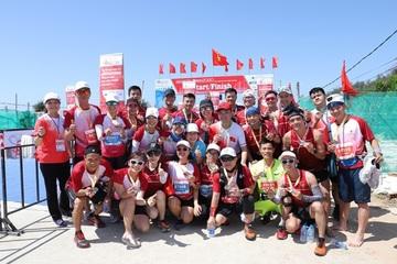 Lan tỏa thương hiệu tại giải vô địch quốc gia Marathon và cự ly dài báo Tiền Phong năm 2020