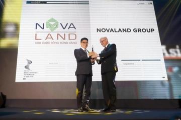 Novaland được vinh danh nơi làm việc tốt nhất Châu Á năm 2020