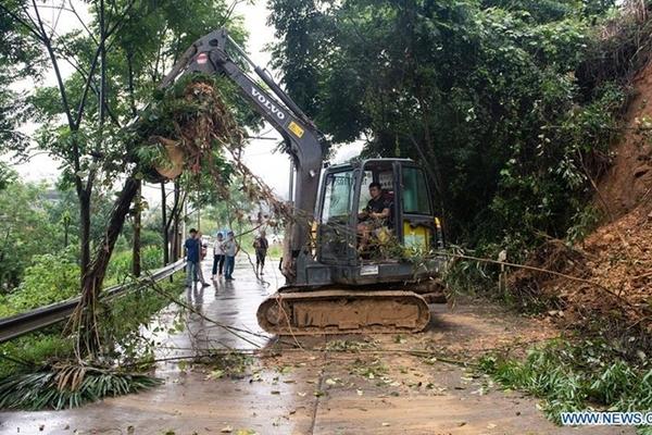 Thêm nhiều khu vực ở Trung Quốc nâng mức cảnh báo lũ lụt