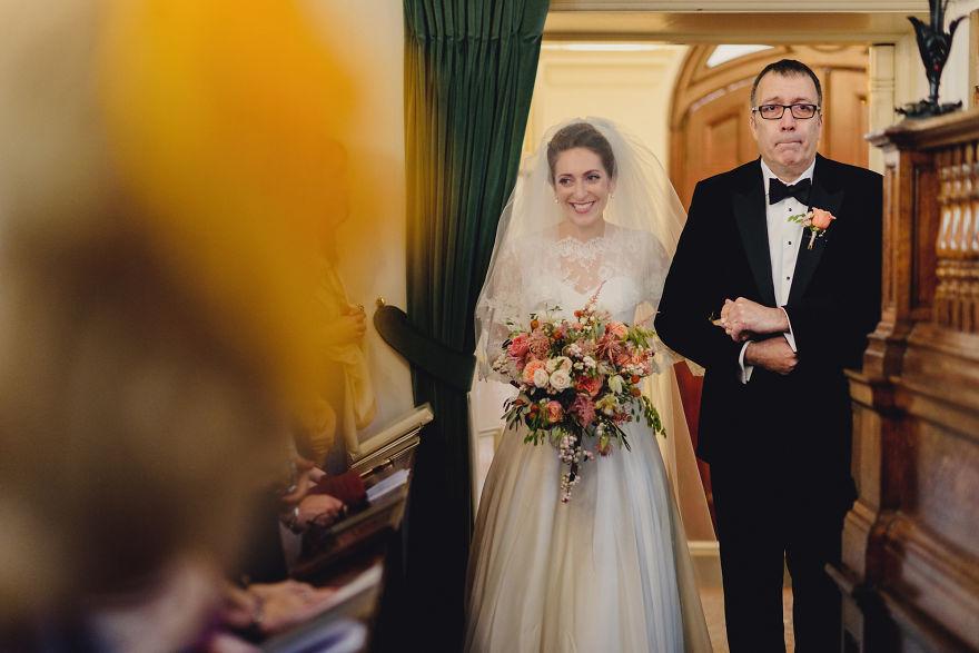 Tuyệt đẹp tình cha và con gái trong ngày trọng đại cuộc đời