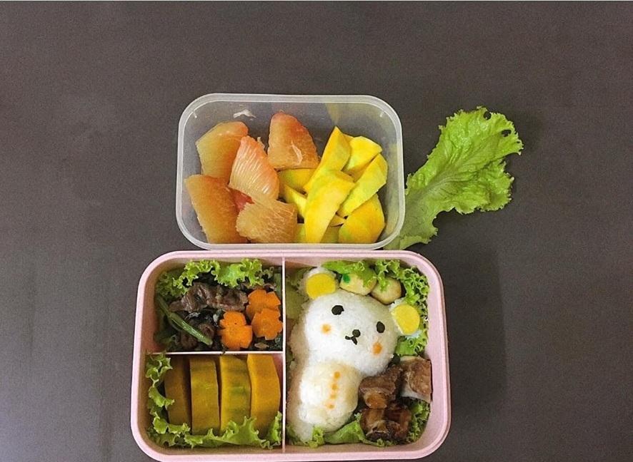 Những hộp cơm bento 'nhìn muốn ăn ngay' của nữ điều dưỡng 9X