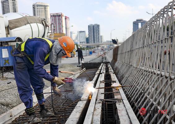 Toàn cảnh đường vành đai 3 Hà Nội, dự kiến thông xe trong tháng 10