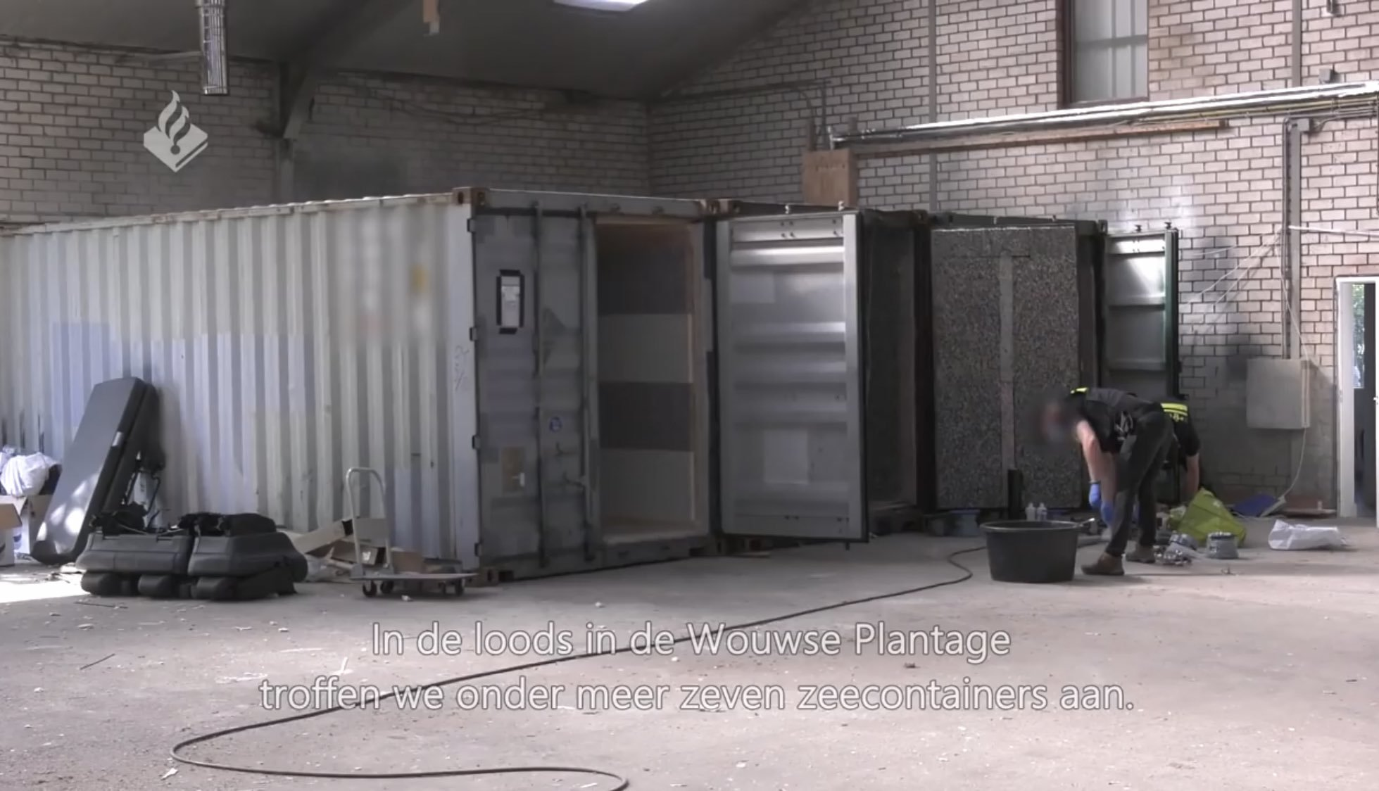 Cảnh sát Hà Lan phát hiện phòng tra tấn trong container