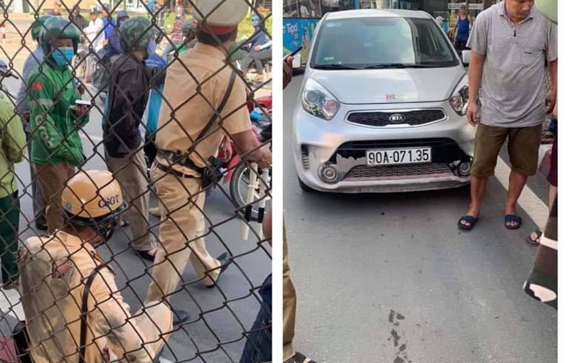Tài xế kéo lê Trung uý CSGT trên đường Hà Nội sẽ bị khởi tố