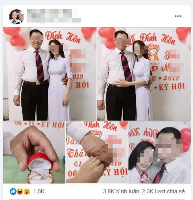 Cho thôi việc thầy giáo 53 tuổi đang có vợ lại đính hôn với học trò cũ