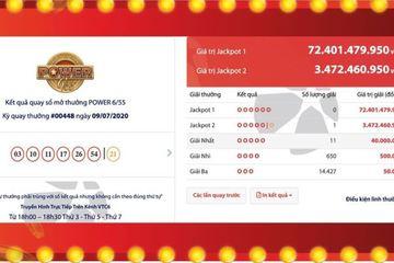 Một người Hà Nội trúng Jackpot tiền tỷ, trở thành tỷ phú Vietlott thứ hai tháng 7