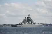 Cận cảnh tuần dương hạm Peter Đại đế phóng tên lửa trên biển Barents