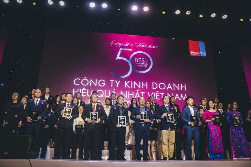 Đất Xanh lọt top 50 công ty kinh doanh hiệu quả nhất Việt Nam năm 2019