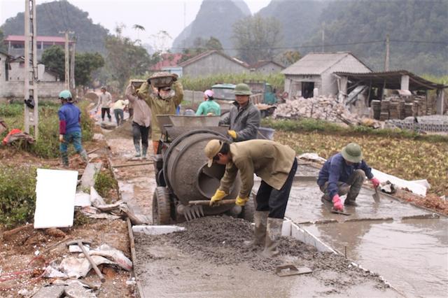 Cao Bằng đẩy nhanh tiến độ xây dựng nông thôn mới
