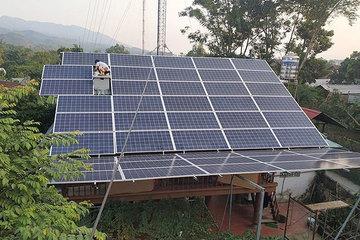 Điện Biên: 68 khách hàng đăng ký bán điện mặt trời mái nhà
