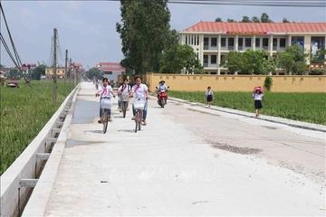 Huyện Tam Dương  (Vĩnh Phúc): 2025 toàn huyện có 8/12 xã đạt chuẩn xã nông thôn mới nâng cao