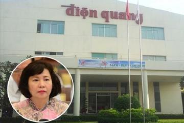 Cổ phiếu Điện Quang trồi sụt ra sao khi Cựu Thứ trưởng Thoa bị truy nã?