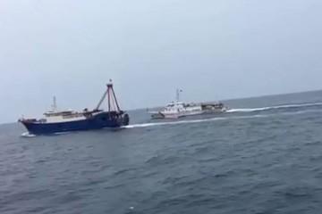Xua đuổi 222 tàu cá nước ngoài vi phạm vùng biển Việt Nam