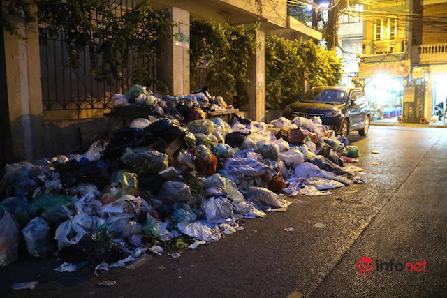 Dân chặn bãi rác Nam Sơn, Hà Nội ùn ứ rác thải, ngột ngạt