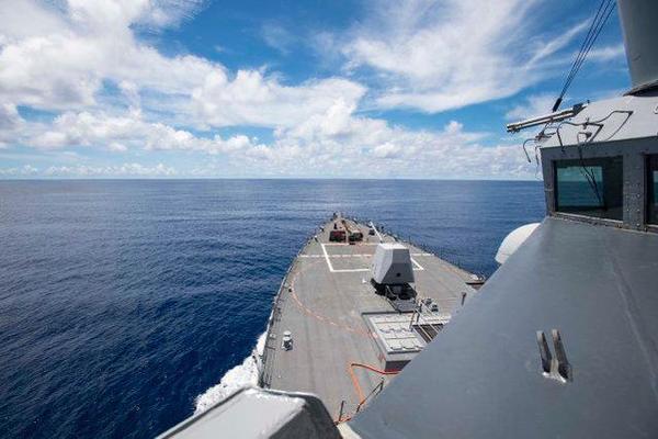 Sức mạnh đáng sợ của tàu khu trục Mỹ đang hoạt động ở Biển Đông