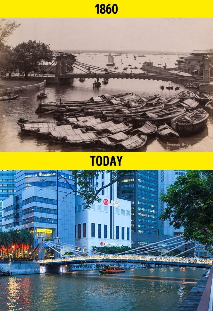 20 bức ảnh cho thấy thế giới thay đổi chóng mặt trong 100 năm qua