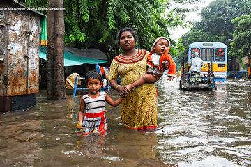 Hơn 4 triệu người châu Á khổ sở vì lũ lụt