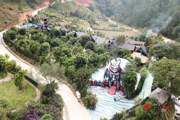 Lâm Đồng: Đóng cửa Khu Quỷ Núi để sửa tượng, khách vừa lòng thì thôi