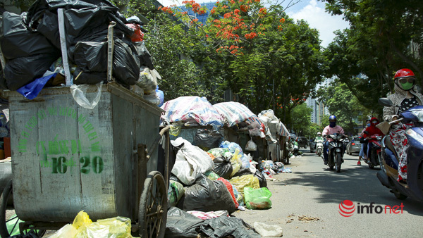 Dân chặn bãi rác Nam Sơn: Sẽ xử lý trường hợp cố tình cản trở