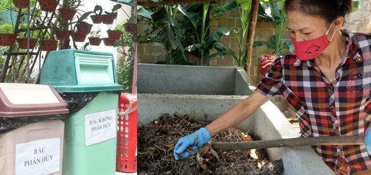 Hàng trăm hộ dân thu gom, tái chế rác thải làm sạch môi trường