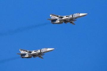 Tiêm kích Su-24M được trang bị hệ thống Gefest