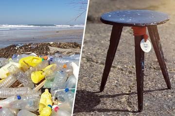 Biến rác thải nhựa từ đại dương thành đồ nội thất