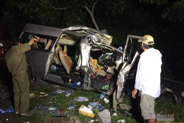 Tai nạn kinh hoàng ở Bình Thuận 8 người chết: Xe khách sai làn đường