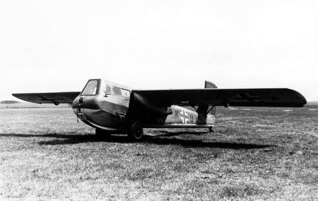 Những chiếc máy bay chiến đấu 'kỳ lạ' nhất trong Thế chiến II