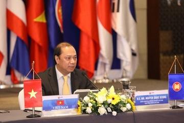 Thứ trưởng Nguyễn Quốc Dũng chủ trì Hội nghị trực tuyến các quan chức cao cấp ASEAN+3