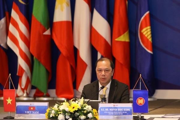 Hội nghị trực tuyến Quan chức cao cấp các nước tham gia Hội nghị Cấp cao Đông Á