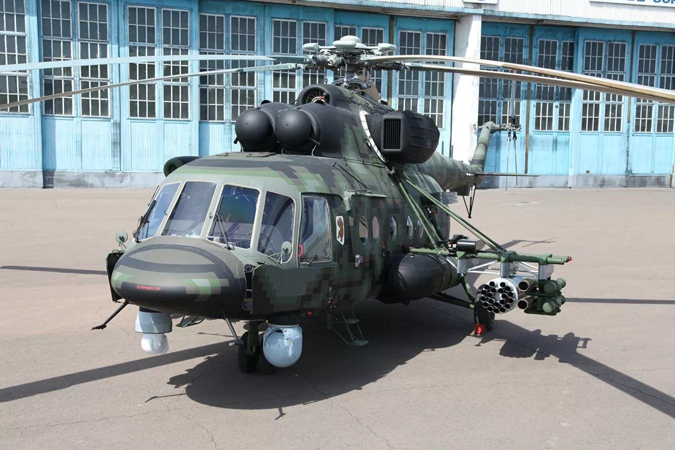 Lực lượng đặc nhiệm Nga thử nghiệm trực thăng tấn công mới