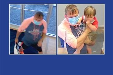 Người đàn ông bế cả con trai 2 tuổi đi cướp ngân hàng
