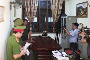 Khám xét nơi làm việc Phó phòng Chính sách Ban Dân tộc tỉnh Nghệ An