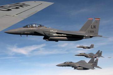 Tình hình Syria: Tiêm kích F-15 Mỹ 'vờn' máy bay chở khách ở Syria