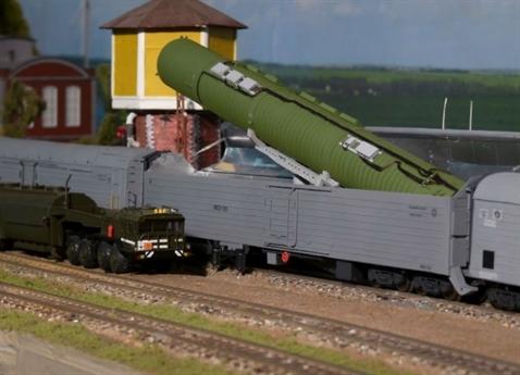 Đoàn tàu mang tên lửa hạt nhân của Nga sắp thành hiện thực