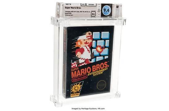Băng trò chơi ăn nấm huyền thoại 'Super Mario Bros' có giá 2,6 tỷ