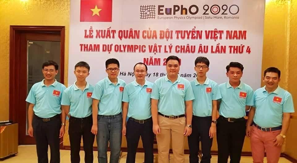 Việt Nam giành huy chương Vàng Olympic Vật lý châu Âu 2020