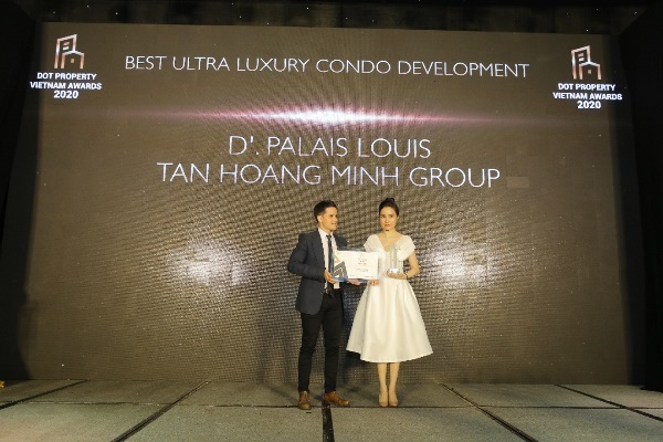 Tân Hoàng Minh lập cú hattrick giải thưởng lớn tại Dot Property Vietnam Awards 2020